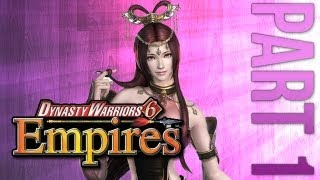 Dynasty Warriors 6 Empires Episode 1 - Lets be an Officer - Serving Lu Bu