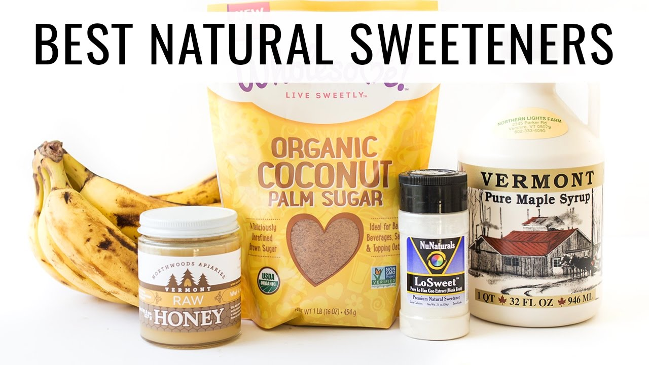 TOP 5 NATURAL SWEETENERS | how to make healthy swaps