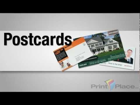 Postcard Printing by PrintPlace.com