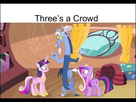 "Blind Reaction: MLP FIM Season 4 Episode 11 ""Three's A Crowd"""