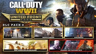 """WW2 """"UNITED FRONT"""" DLC PACK #3 Release Date & Details! 3 Classic-Style COD Maps?!"""