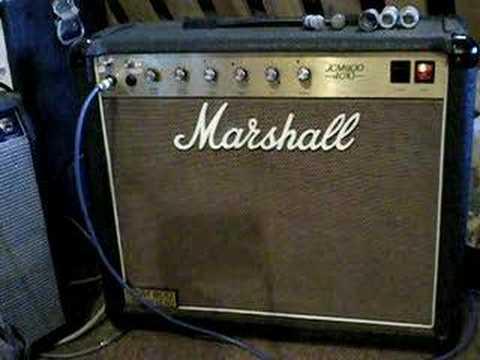 marshall jcm800 4010 demo 5 50 watt tube amp bterry guitar isolation box youtube. Black Bedroom Furniture Sets. Home Design Ideas