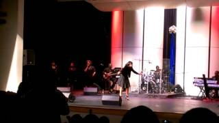 Ishika at Gospel Showcase Singing Awesome followed by other songs