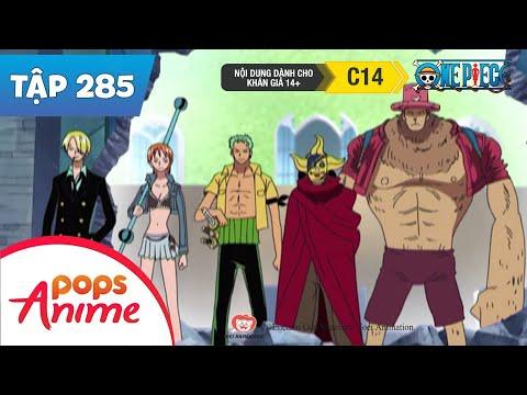 One Piece Tập 285 - Tìm Được 5 Chiếc Chìa Khóa! Nhóm Mũ Rơm Quyết Đấu Cp9 - Phim Đảo Hải Tặc