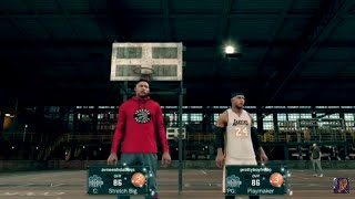Prettyboyfredo vs GloryOneReso Partie 2 un Autre GG ! | Le meilleur Centre de Construire - NBA 2K17 Mon Parc