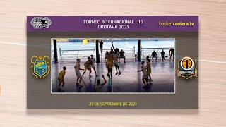 U16M - CAJASIETE CANARIAS vs ORANGE1 BASSANO Italia. Torneo Internacional Villa de la Orotava 2021