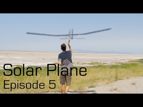 Solar Plane Episode 5 - RCTESTFLIGHT -