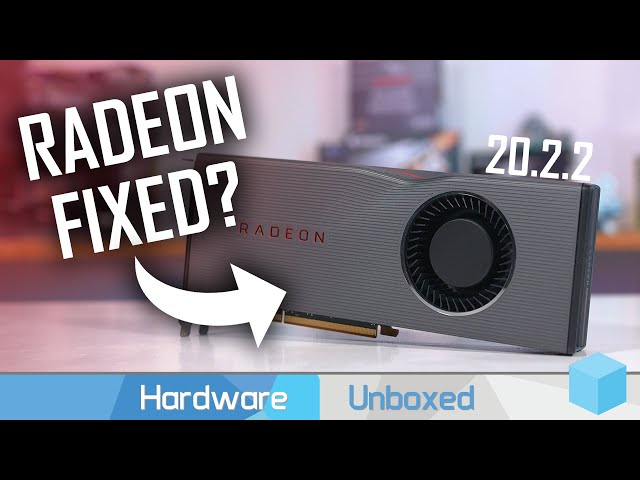 Are AMD's Radeon Driver Issues Fixed? Navi Driver Problems Follow-Up