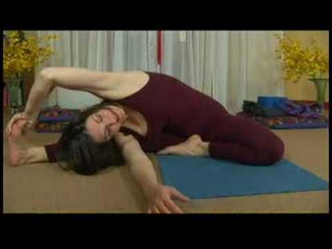 core flow vinyasa yoga  vinyasa yoga revolving headto