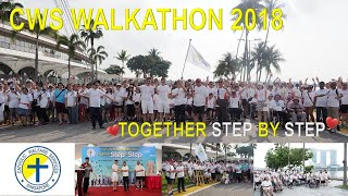 Catholic Welfare Services Walkathon 2018 Together Step by Step