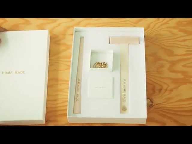 「名もなき指輪」の作り方 / JAM HOME MADE ジャムホームメイド