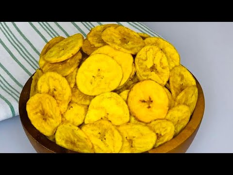 HEALTHY | BAKED PLANTAIN CHIPS