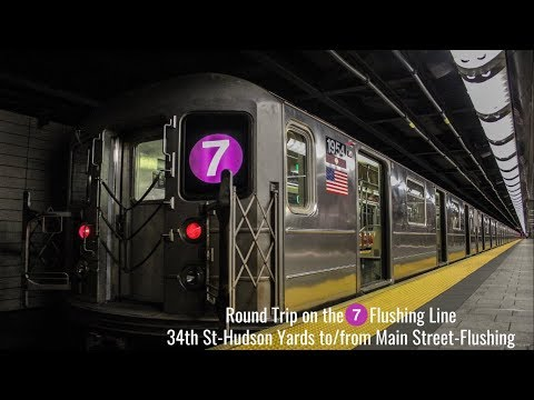 NYC Subway: On Board The Flushing (7) Local (Hudson Yds - Main St)