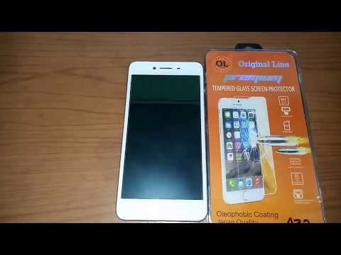 Oppo A37 Neo 9 White : How to Install Tempered Glass Screen Protector
