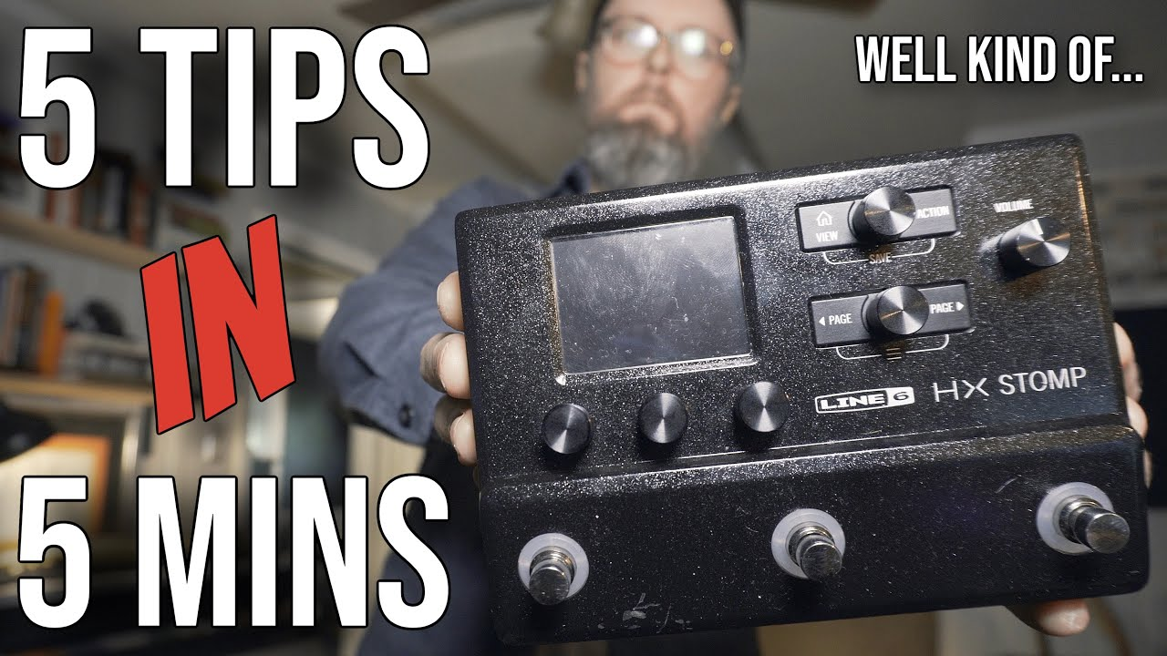 5 ways to get the most from Line 6 HX Stomp and Helix Amp PRESETS!