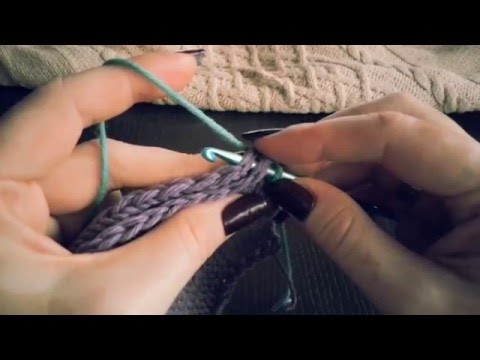 Как соединить связанные спицами детали