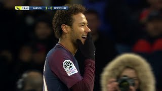 Neymar vs Montpellier (H) 17-18 – Ligue 1 HD 1080i by Guilherme