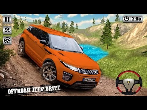 Offroad SUV Jeep Rivals Prado Racing 3D Car Android Game Play - Jeep Car Driving Games To Play