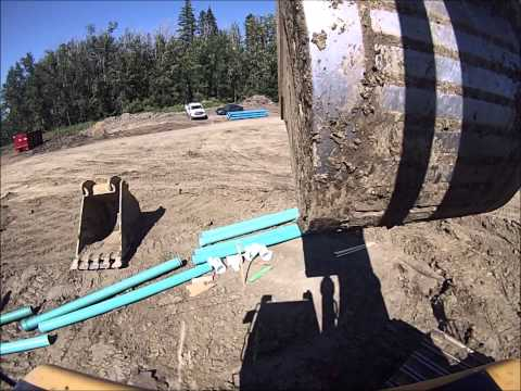 Digging Ditches (Excavator operator and pipelayer point of view)
