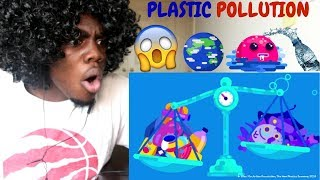 Plastic Pollution: How Humans are Turning the World into Plastic by Kurzgesagt REACTION!!!
