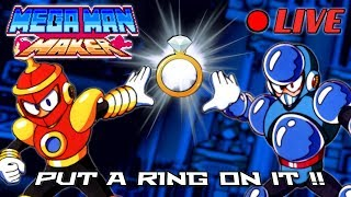 We Play Your MegaMAN Maker Levels LIVE! #42