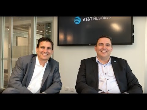 VIDEO Interview: AT&T Australia - Healthcare - Martin Creighan & Tad Reynes