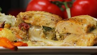 Pesto Stuffed Chicken