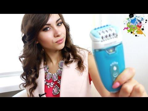 Удаление волос эпилятором ЦЕЛОЕ КИНО/// Обзор Rowenta Aquaperfect Soft