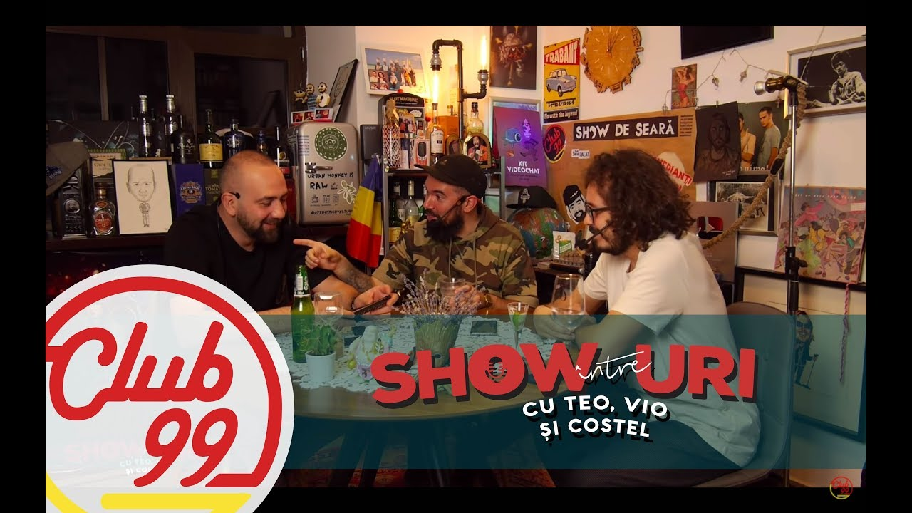 Podcast #296 | Între showuri cu Teo, Vio și Costel