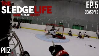 The Sledge Life - Getting Ready For The Next Game! Ep.5 (GoPro Hockey)