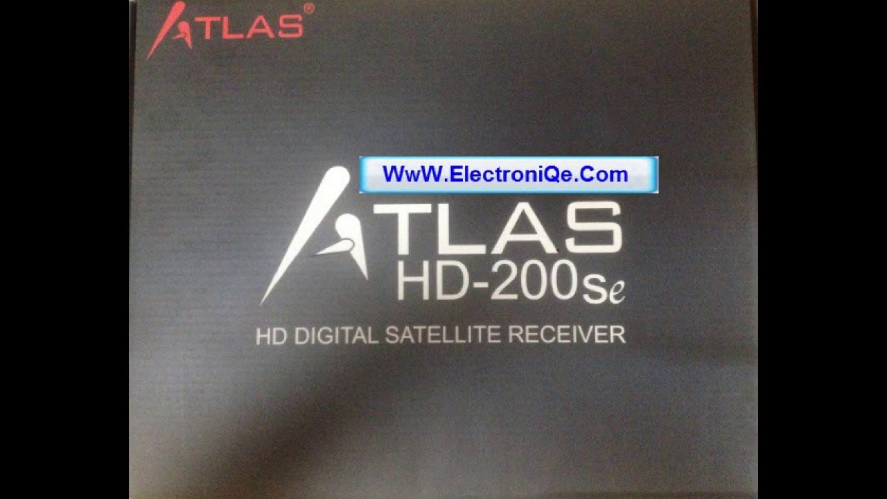 mise a jour demo atlas hd 200se