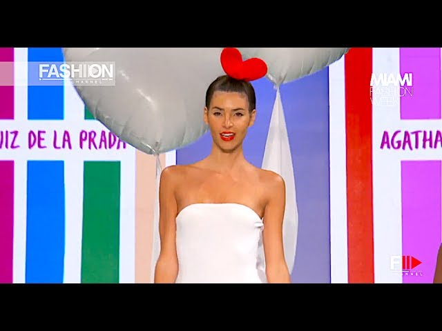 AGATHA RUIZ DE LA PRADA Fall Winter 2017 - 18 Miami Fashion Week - Fashion Channel