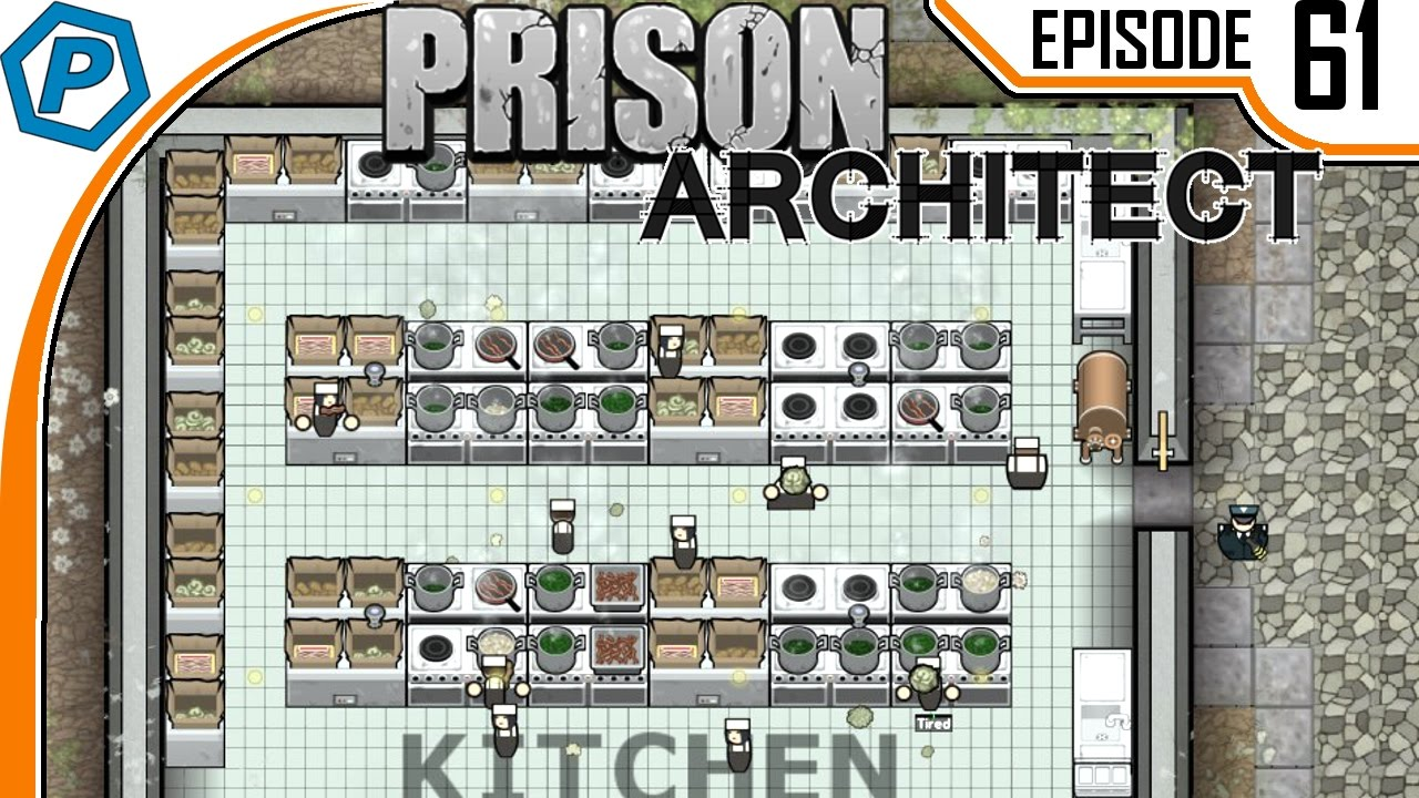 Kitchen Expansion Prison Architect Obsidian Penitentiary