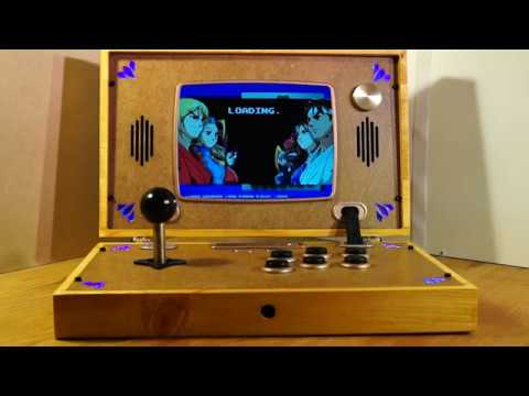 Retro Arcade Briefcase custom build Retropie Omega