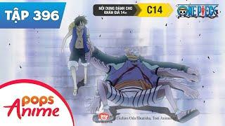 One Piece Tập 396 - Nắm Đấm Bùng Nổ! Đập Tan Buổi Bán Đấu Giá - Đảo Hải Tặc