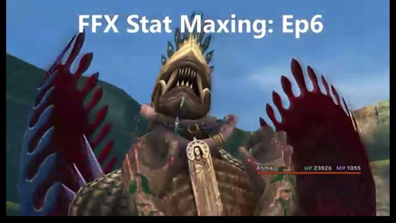Final Fantasy X Stat Maxing Guide Episode 6: Farming Magic