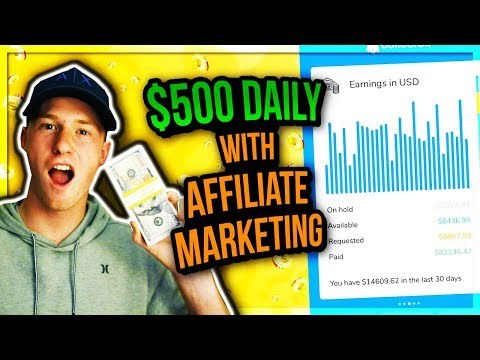 5 Tips to Make $500 Daily with Affiliate Marketing