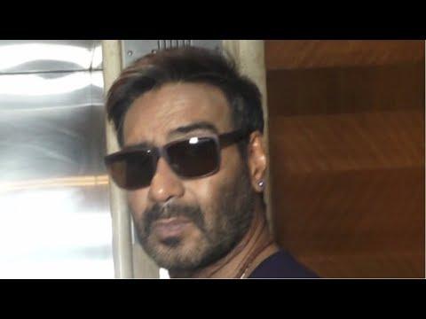 Ajay Devgan Spotted At Sun N Sand Hotel