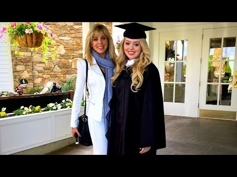 Donald, Ivanka and Melania Trump Join Marla Maples for Tify's Graduation