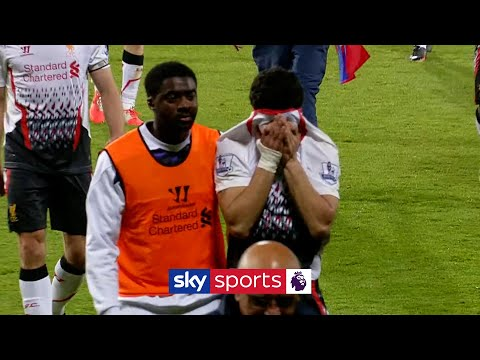 Suarez cries on pitch, and Jamie Carragher slates Liverpool's defence
