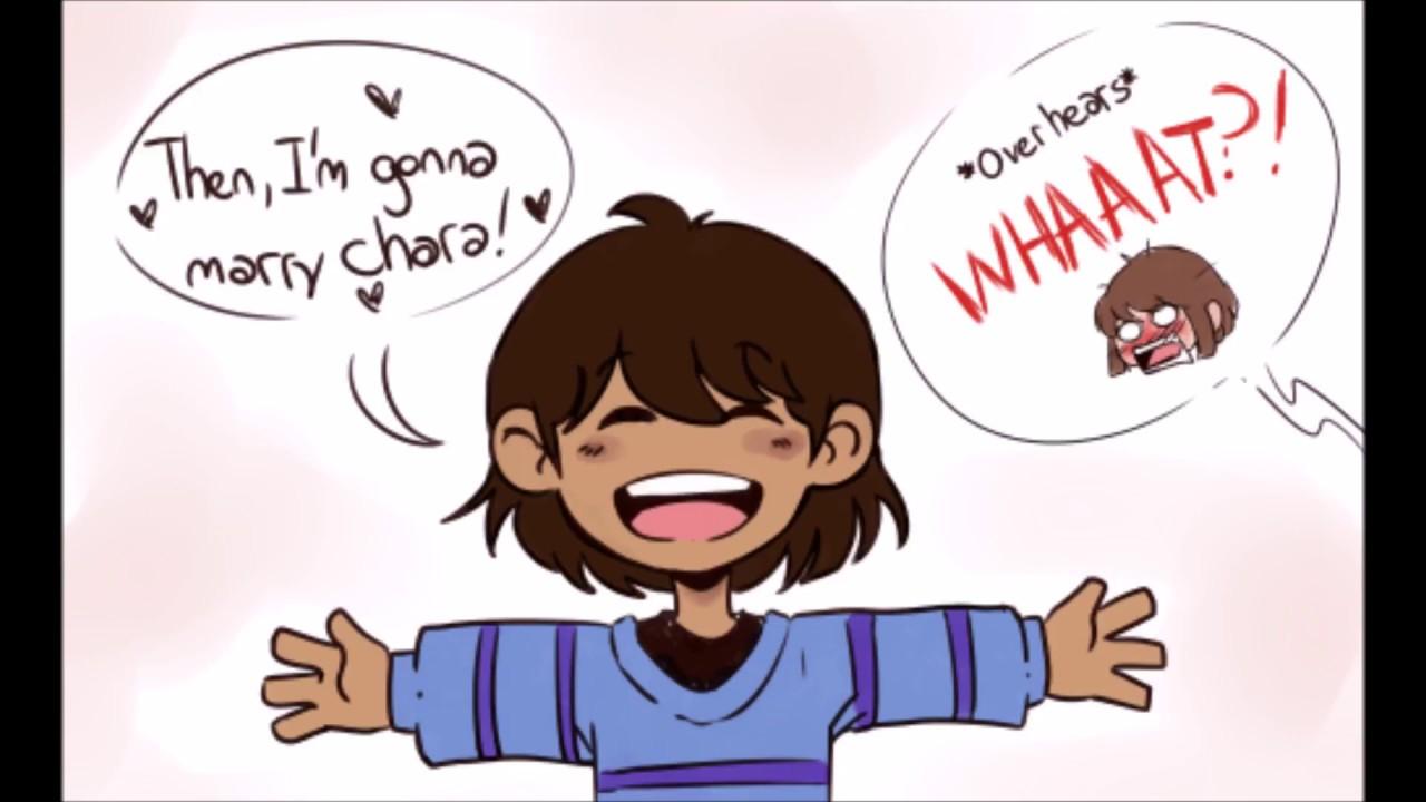 Chara X Frisk (Charisk) Undertale Comic Dub