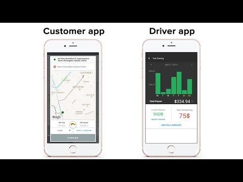 Apporio Taxi - The Uber Clone script app (Uber clone app)
