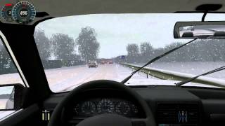 City Car Driving 1.2.5 - Winter mod [ HD 1080p ]