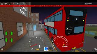 Roblox London Hackney & Limehouse bus Simulator MCV EvoSeti Volvo Hybrid GAL Blind Change at Bonner