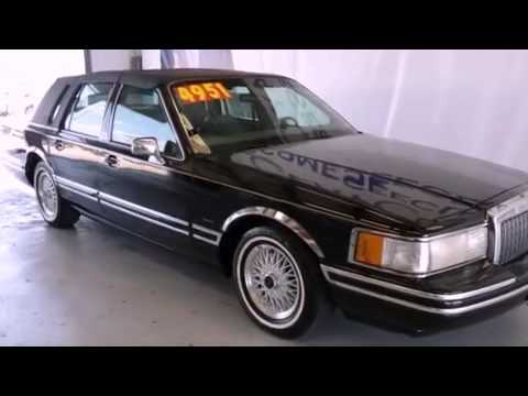 1994 Lincoln Town Car Fort Worth Tx 76017 Youtube