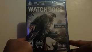 Watch Dogs PS4 Unboxing Playstation 4