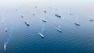 US, Korea Navy Ships Sail Together in Largest Ever Joint Military Exercise