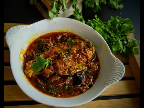 Spicy Basa Fish Curry( বাসা মাছের ঝাল)
