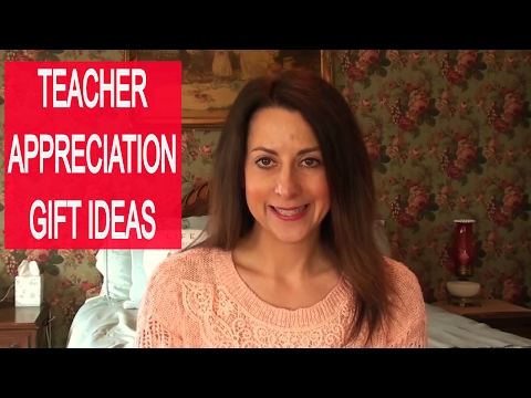 Teacher Appreciation Week Gift Ideas | Pinterest Inspired Teacher Gifts