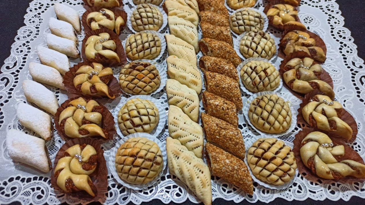 Gâteaux Aïd ❤️ avec 1oeuf🥚Sans lévure 👈 tellement facile et 😋 😋 😋